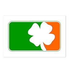 Irish Shamrock Logo Postcards (Package of 8)