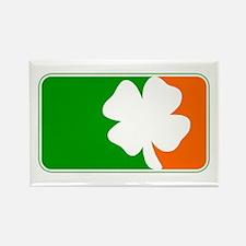Irish Shamrock Logo Rectangle Magnet