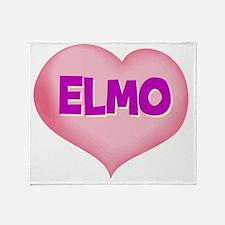 ELMO01 Throw Blanket