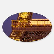 France, Paris, Tour Eiffel and Ecol Decal