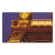 France, Paris, Tour Eiffel and Decal