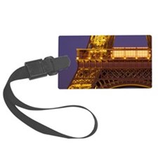 France, Paris, Tour Eiffel and E Luggage Tag