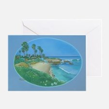 Floating Cove b shirt Greeting Card