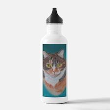 Calico Cutie b shirt Sports Water Bottle