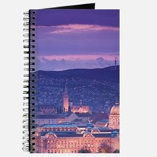 Budapest: Evening View of Castle Hill from Journal