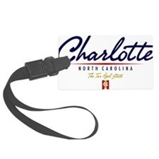 Charlotte Script W Luggage Tag