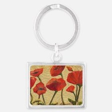 poppy-paradise2x3_magnet Landscape Keychain