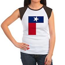 iPad Tex Flag Women's Cap Sleeve T-Shirt