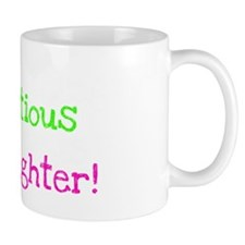 Infectious Laughter Girl dark Mug