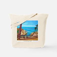 La Jolla Beach Path a shirt Tote Bag