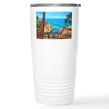 La Jolla Beach Path a shirt Travel Mug
