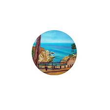 La Jolla Beach Path a shirt Mini Button