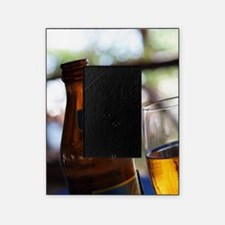 Bottle and Glass of Safari Lager Bee Picture Frame