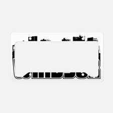 Windsor Skyline License Plate Holder