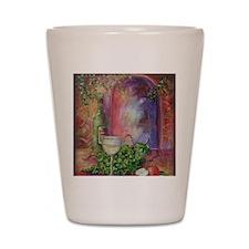 white-wine2x3_magnet Shot Glass