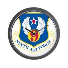 9th U S Air Force Wall Clock
