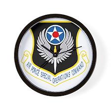 AFSOC USAF Wall Clock