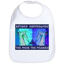 More Greyhounds Bib