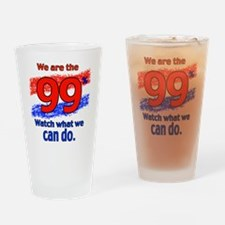 WE ARE copy Drinking Glass