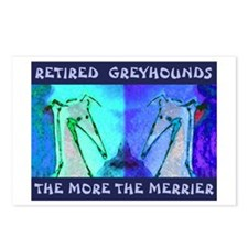 More Greyhounds Postcards (Package of 8)