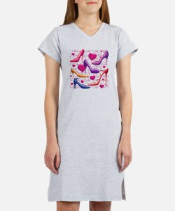 561 I Love Shoes for Cafe Press Women's Nightshirt