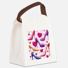 561 I Love Shoes for Cafe Press Canvas Lunch Bag