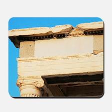 Greek Art. Erechtheum. Temple ionic buil Mousepad