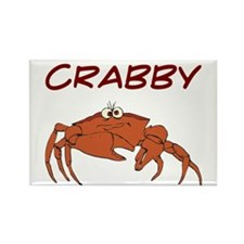 Crabby Rectangle Magnet