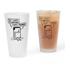 Want Mango nobg Drinking Glass