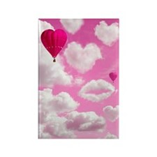 556 Heart Clouds for Cafe Press c Rectangle Magnet