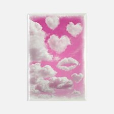 556 Heart Clouds for Cafe Press b Rectangle Magnet