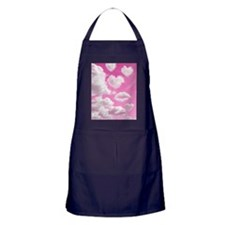 556 Heart Clouds for Cafe Press d Apron (dark)