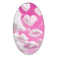 556 Heart Clouds for Cafe Press d Decal