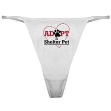 Adopt a Shelter Pet Frederick MD Classic Thong