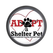 Adopt a Shelter Pet Frederick MD Wall Clock