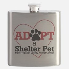 Adopt a Shelter Pet Frederick MD Flask