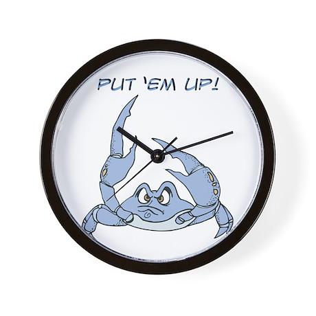 Put 'Em Up Wall Clock