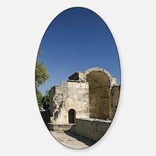 Church of Agios Titos Sticker (Oval)