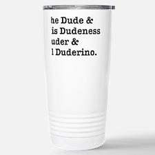 thedude Travel Mug