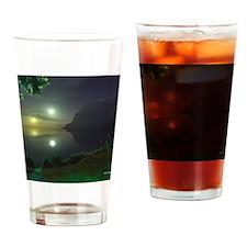 ViridianLakeMousepad Drinking Glass