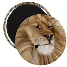 11x11_lion pillow Magnet
