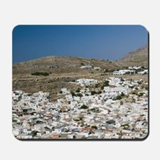 Lindos: Town View as seen from the Acrop Mousepad