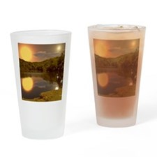 SecludedDuskMousepad Drinking Glass