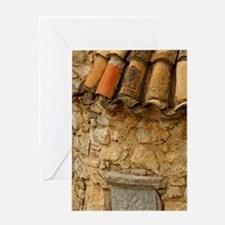14th century Kera MonasteryKriti). M Greeting Card