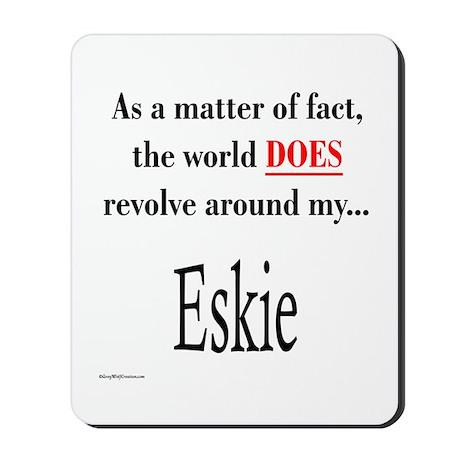 American Eskimo World Mousepad