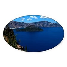 (11) Crater Lake  Wizard Island Decal