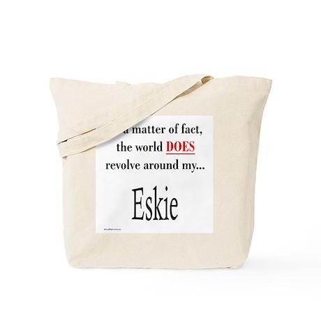 American Eskimo World Tote Bag