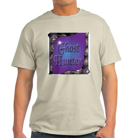 Ornate Ghost Hunter T-Shirt (ash grey)