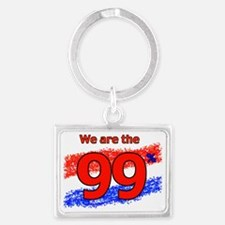 WE ARE copy copy Landscape Keychain