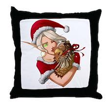 20101202BlizzardChristmas Throw Pillow